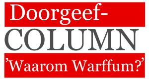 Doorgeef Column Jaap Zuidema